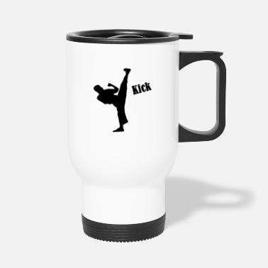 Kick kick - Travel Mug
