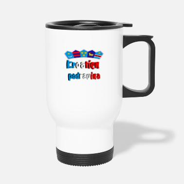 Region Croatia of the Podravina region - Travel Mug