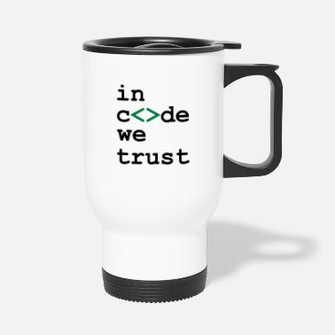 Stem Day [ In code we trust ] - Travel Mug