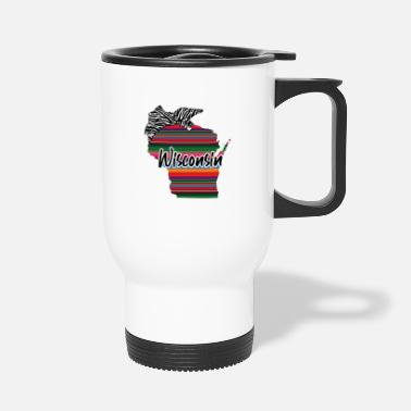 United Wisconsin Country Rainbow - Mug isotherme