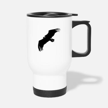 Swine Flu VULTURE IN FLIGHT - Travel Mug