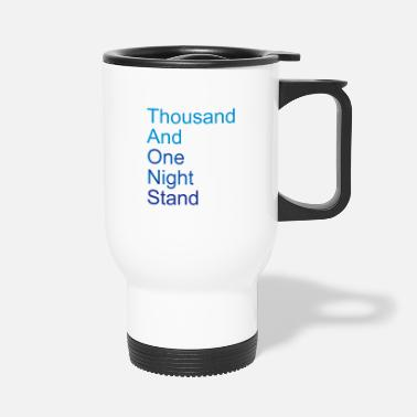 Huwelijk thousand and one night stand (2colors) - Thermosbeker