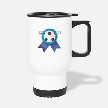 Award Football Award Rosette - Travel Mug