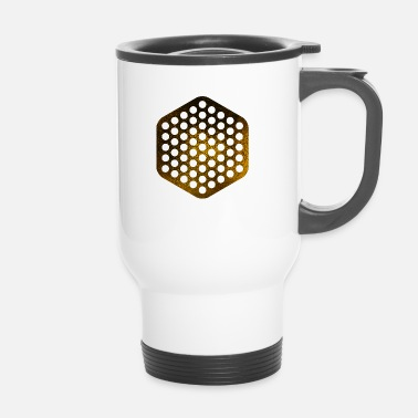 Seize HEXAGONS SEIZE GOLD 18 - Mug thermos