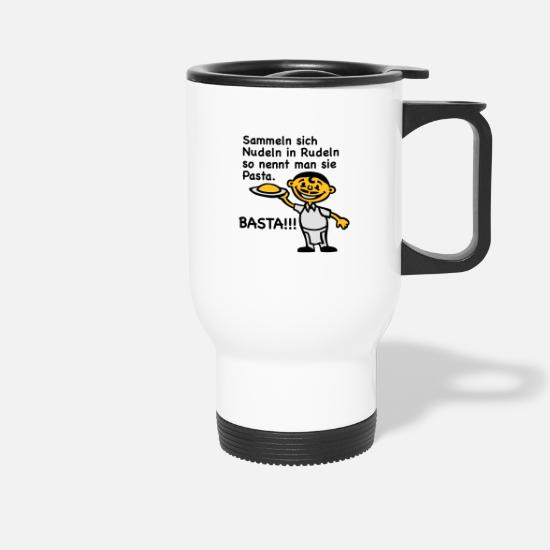 Poem Mugs & Drinkware - Noodle pack - Travel Mug white