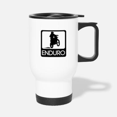 Motocross Enduro Rider - Thermobecher