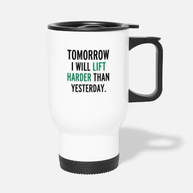 Lifting Lift - Travel Mug