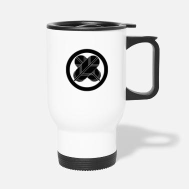 Medieval takanohamon - Travel Mug