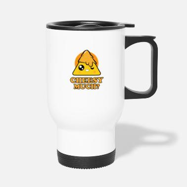 Usa Nacho for parties - Cheesy Much - Travel Mug