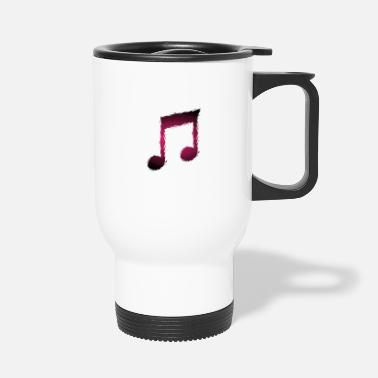 Musical Music musical note - Travel Mug