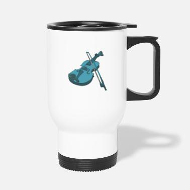 Instrument Violin musical instrument instrument - Travel Mug