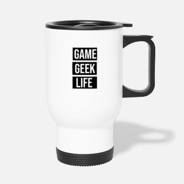 Pixel Game Geek Life - Thermobecher