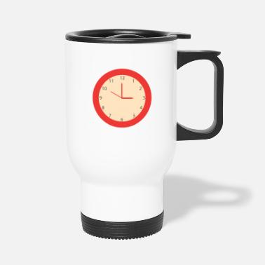 Clock Clock - Travel Mug
