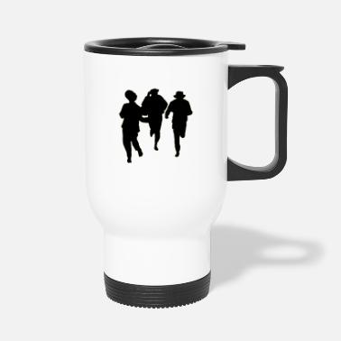 Male Dancer Dancers three male - Travel Mug