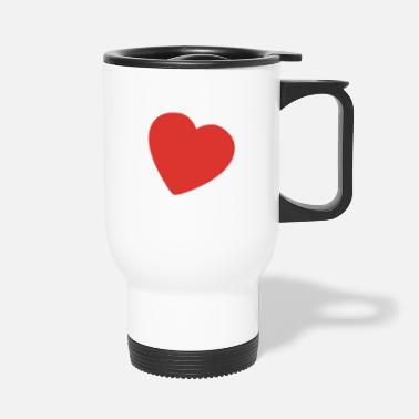 Serce little heart EN - Travel Mug