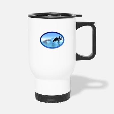 Breaching Dolphins and Orca's - Travel Mug