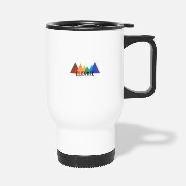 Elevator Elevated to the Mountains - Travel Mug