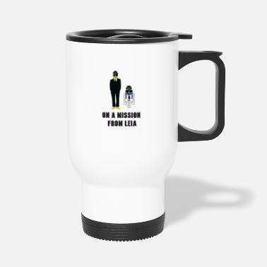 Mission On A Mission - Travel Mug