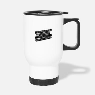 Sioux Motive for cities and countries - SIOUX FALLS - Travel Mug