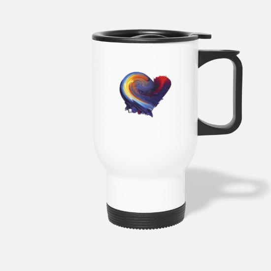 Love Mugs & Drinkware - My heart - Travel Mug white