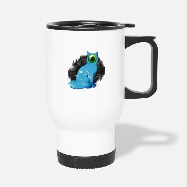 Weird Cyclope chat Weird - Mug isotherme