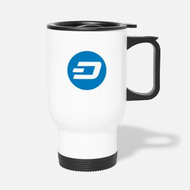 Dash Crypto Dash. - Travel Mug