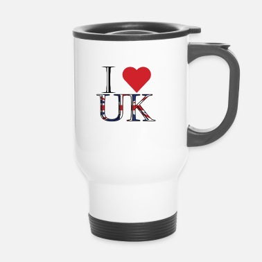 Uk Ik hou van UK - Thermo mok