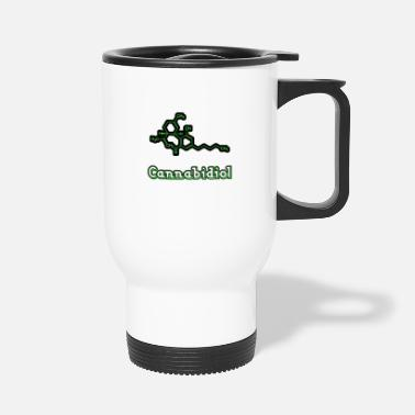 Cannabidiol cannabis gift - Travel Mug