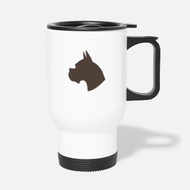 Dog Head dog head - Travel Mug