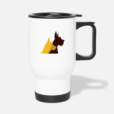 Dog Motif dog motif - Travel Mug