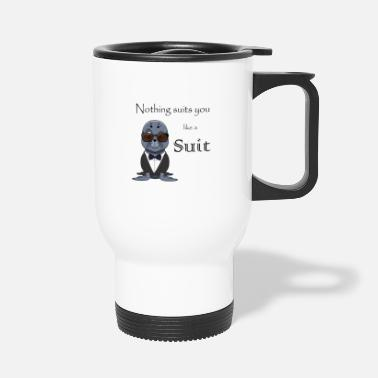 Suit lorey.w Suits suit you, sea lion, suit - Travel Mug
