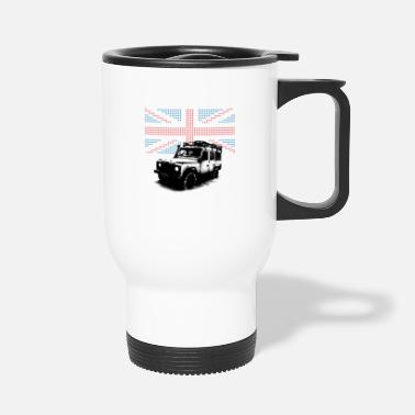 Land Rover Union Jack Landie Defender - Autonaut.com - Travel Mug