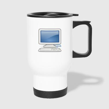 great for PC nerds or PC in love - Travel Mug