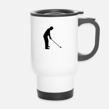 Golfer Golfer Golf - Thermobecher