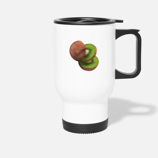Gift Idea Mugs & Drinkware - The Kiwi Mars! - Travel Mug white