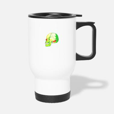 Bright skull bright - Travel Mug