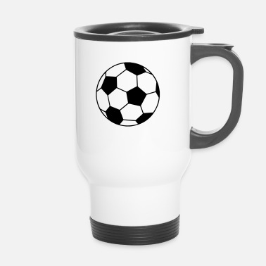 Ballon De Foot Ballon Foot Original - Personnalisable - Mug thermos
