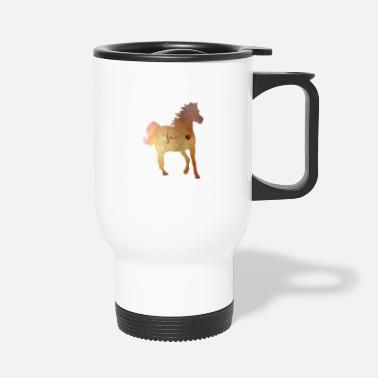 Trab Cheval or coeur vrai amour fille femme sabots - Mug isotherme