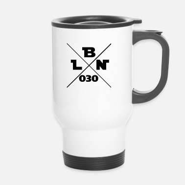 Bln bln 030 Berlin - Travel Mug