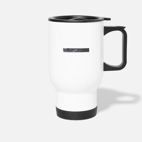 Hardstyle Mugs & Drinkware - error - Travel Mug white