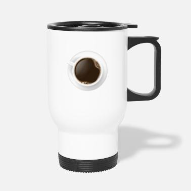 Coffee cup and cup - Travel Mug