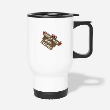 Huettenzauber Wood - Travel Mug