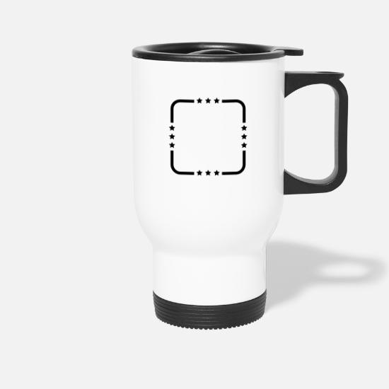 Border Mugs & Drinkware - Frame - Travel Mug white