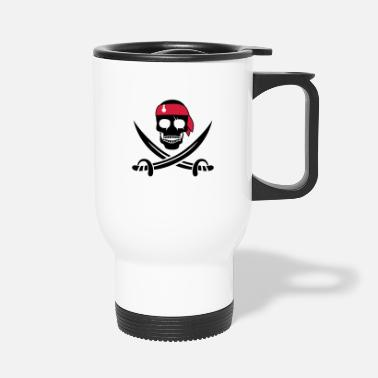 Pirate Skull pirate skull - Travel Mug