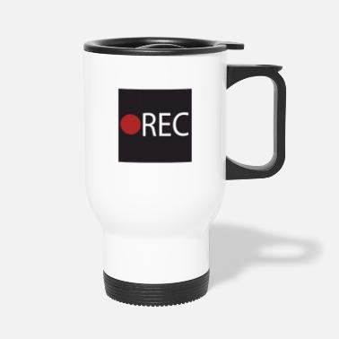 Record REC recording recording - Travel Mug