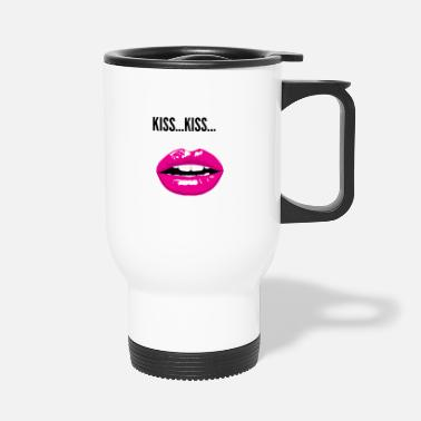 Kiss KISS KISS - Travel Mug