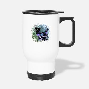Anniversaire Chat - Mug isotherme