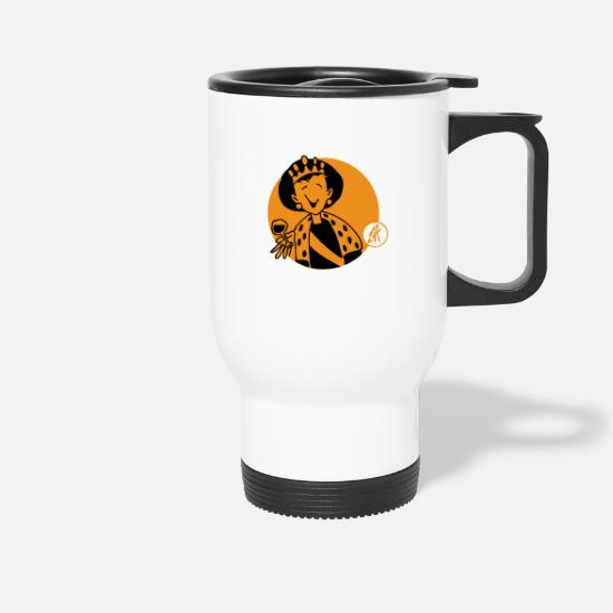 Queen Mugs & Drinkware - Beatrix - Travel Mug white