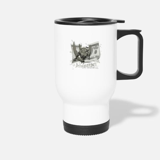 Grappling Mugs & Drinkware - Irresponsibull - Travel Mug white