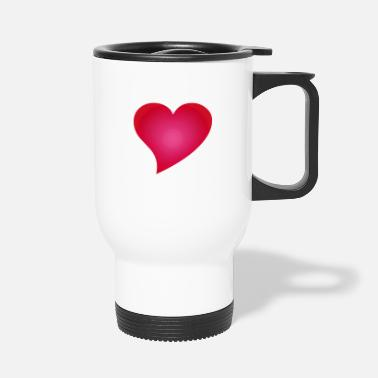 Cuore herz / heart / coeur / cuore / herz - Mug isotherme